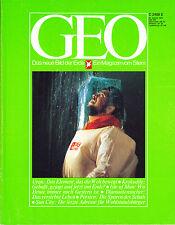 GEO – Das neue Bild der Erde – Ausgabe 6/1979