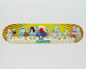 """Toy Machine Skateboard Deck Last Supper 8"""""""