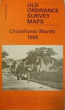 Old Ordnance Survey Maps  Chislehurst North Kent 1895 Sheet 8.10 New Map