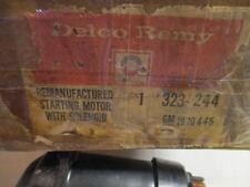 NOS CHEVROLET 1966,1967,1968 CORVETTE REMAN DELCO STARTER FOR 327 W/H.D.CLUTCH