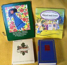 4 x Grimms Märchen verschiedene Ausgaben - gesammelt - Sammlung Konvolut Paket
