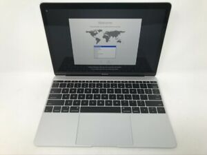 MacBook 12 Silver Early 2016 MLHC2LL/A 1.2GHz m5 8GB 512GB - Very Good - READ