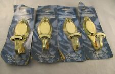 Vintage Traditional Harrison Drape Brass Decorative Hook/Curtain Tie Backs