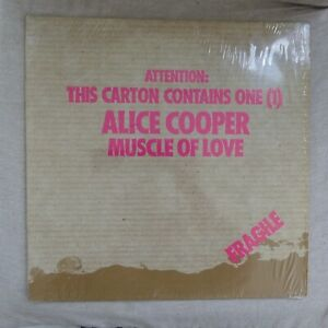 Alice Cooper – Muscle Of Love - LP - WB 56018