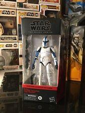 Star Wars Black Series 6? Phase 1 Clone Trooper Lieutenant Walgreens MIMB 501st
