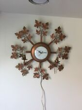 Vintage United Clock/Light Fixture