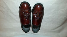 NICE Dexter Comfort Mens Brown Leather Tassel Loafers 7 WW Extra Wide USED