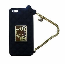 Hello Kitty Purse Case w Gold Chain & Gift Box For iPhone 6 iPhone 6 Plus Cute