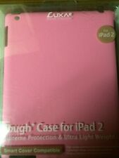 PINK TOUGH CASE FOR IPAD 2, SMART COVER COMPATIBLE