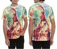 New Marvel Alex Ross 75th Anniversary Men's Sublimation Print Top T-Shirt S-M
