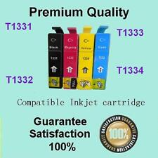 4 x GENERIC Ink Cartridges T133 for Epson STYLUS N11 NX125 NX130 NX230 NX420