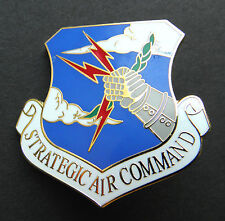 Strategic Air Command US Air Force Large Cap Hat Jacket Pin USAF 1 1/2 inches