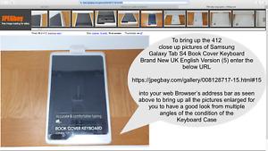 Samsung Galaxy Tab S4 Book Cover Keyboard Brand New UK English Version (5)