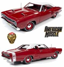 1 18 1969 Dodge Coronet Super Bee Hardtop Red/white American Muscle