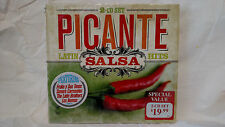 Picante Salsa: Latin Hits by Various Artists (CD, 2 Discs, Somerset, 2011) New!