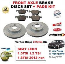 Für Seat Leon 1.0 1.2 TSI 1.6tdi ab 2012 Vorderachse Bremsbeläge + Scheibe 276mm