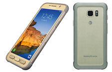 Samsung Galaxy S7 active SM-G891 32GB Gold  Unlocked 9/10 Heavy Burn Image