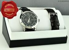 Stainless Steel Case Quartz (Battery) Adult Analogue Watches