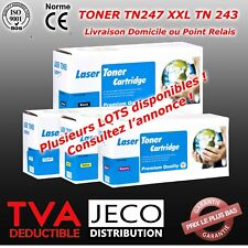 Toner Laser Brother TN247/TN243 XXL compatible MFC-L3750CDW DCP3510 HL3510/3550