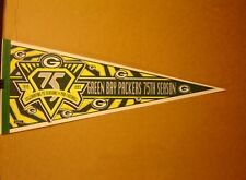 1993 Green Bay Packers 75th Anniversary NFL Football Pennant