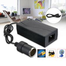 🔥 Car Home Cigarette Lighter Power Supply Adapter 6A 80W DC100V-250V To 12V U