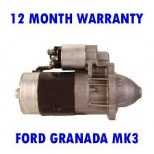 FORD GRANADA MK3 MK III 2.5 1985 1986 1987 1988 - 1993 STARTER MOTOR
