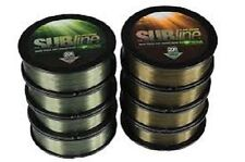 KORDA SUBLINE TOUGH SINKING MONO SUB GREEN LINE 20lb, 1000mtrs FOR CARP FISHING