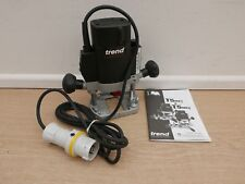 BRAND NEW  TREND T5E   1000W PLUNGE ROUTER    MOTOR UNIT ONLY      110V