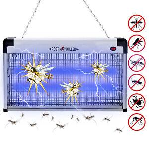 30W Insektenvernichter UV Mückenkiller Insektenfalle Elektrisch Fliegenfalle
