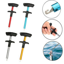 Portable Easy Fish Hook Remover Tackles Extractor T-Handle Fishing Detacher Tool
