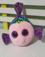 TY Beanie Boos Medium Flippy Multicolour Fish 21CM TALL!