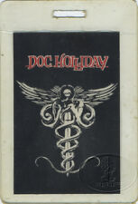 DOC HOLLIDAY 1981 Tour Laminated Backstage Pass