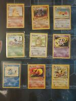 1st Edition -Jungle Set- Wotc Pokemon Lot 33