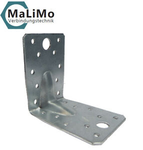 Winkelverbinder Winkel Bauwinkel MIT Sicke Steg Rippe DIN 1052 mit Zulassung CE