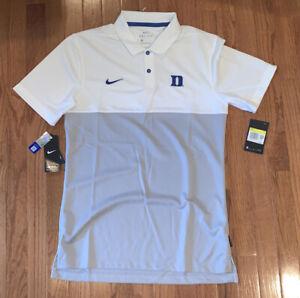 Men's Duke Blue Devils Nike Early Season Coaches Polo Small NWT $75