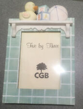 "Green Baby/child Photo Frame - 5x3"" Photo"