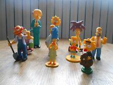 Lot de 10 figurines PVC Les simpson - The Simpsons (F)