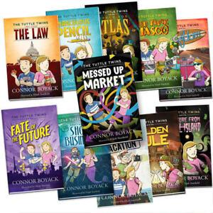 Tuttle Twins 11 Book Series Set + Bonus Activity Books, Parent Guides, Rebuttals