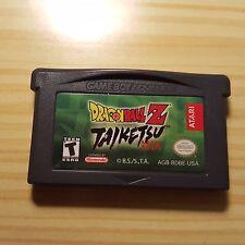 Dragon Ball Z: Taiketsu (Nintendo Game Boy Advance, 2003) GBA Cart