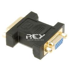 Adaptador DVI-I(24+5) Hembra a VGA Hembra Extension v237