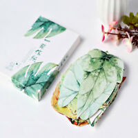 30X New Leaves Shape Postcard Bookmark Wall Ornament Post Cards Gift Hot 889