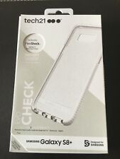 Galaxy S8 PLUS 3 Mtr / 10 Ft DROP PROTECTION Check Case Quality by Tech21 Boxed