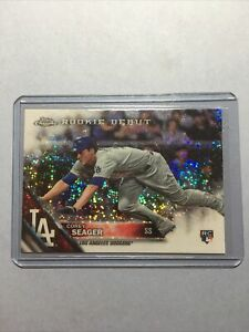 COREY SEAGER 2016 Topps Chrome Update RC Rookie Debut Pulsar REFRACTOR HMT41