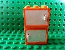 LEGO Bulk Orange Minifig Cabinet x2 Friends Iron Man Olivia House Trees Flowers
