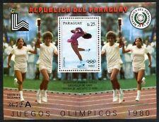 PARAGUAY - OLYMPIC Mi # Bl 338 A, MNH, VF