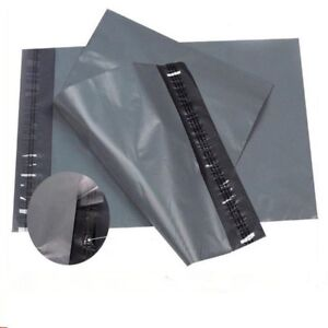 """STRONG GREY MAILING BAGS POST POSTAL POLY POSTAGE SELF SEAL 14x19"""" 17x24"""" 22x30"""""""