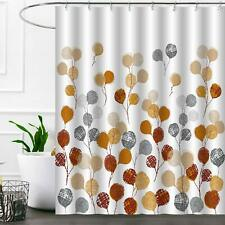 Nice Brown Gray Geometric Shabby Chic Boho Farmhouse Fabric Shower Curtain