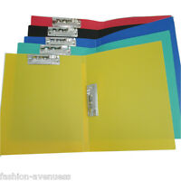 1Pc Plastic Pockets A4 Paper File Folder Cover Holder Document Office Stationery