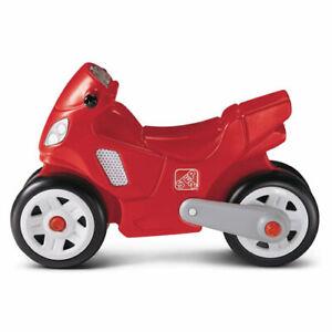 Step 2 Step 2 Red Motorcycle