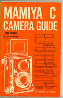 1965 Mamiya C TLR Camera Instruction Book, 3rd Ed. More Manuals & Guides Listed